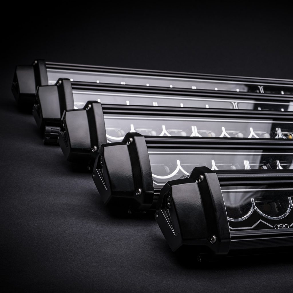 led light bars asio evo
