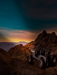 Jeep led light bar performance