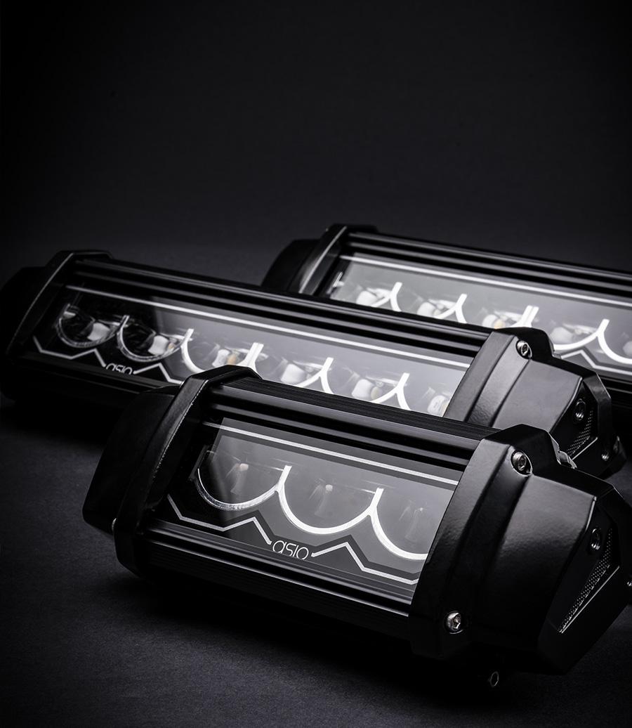 asio evo led light bars