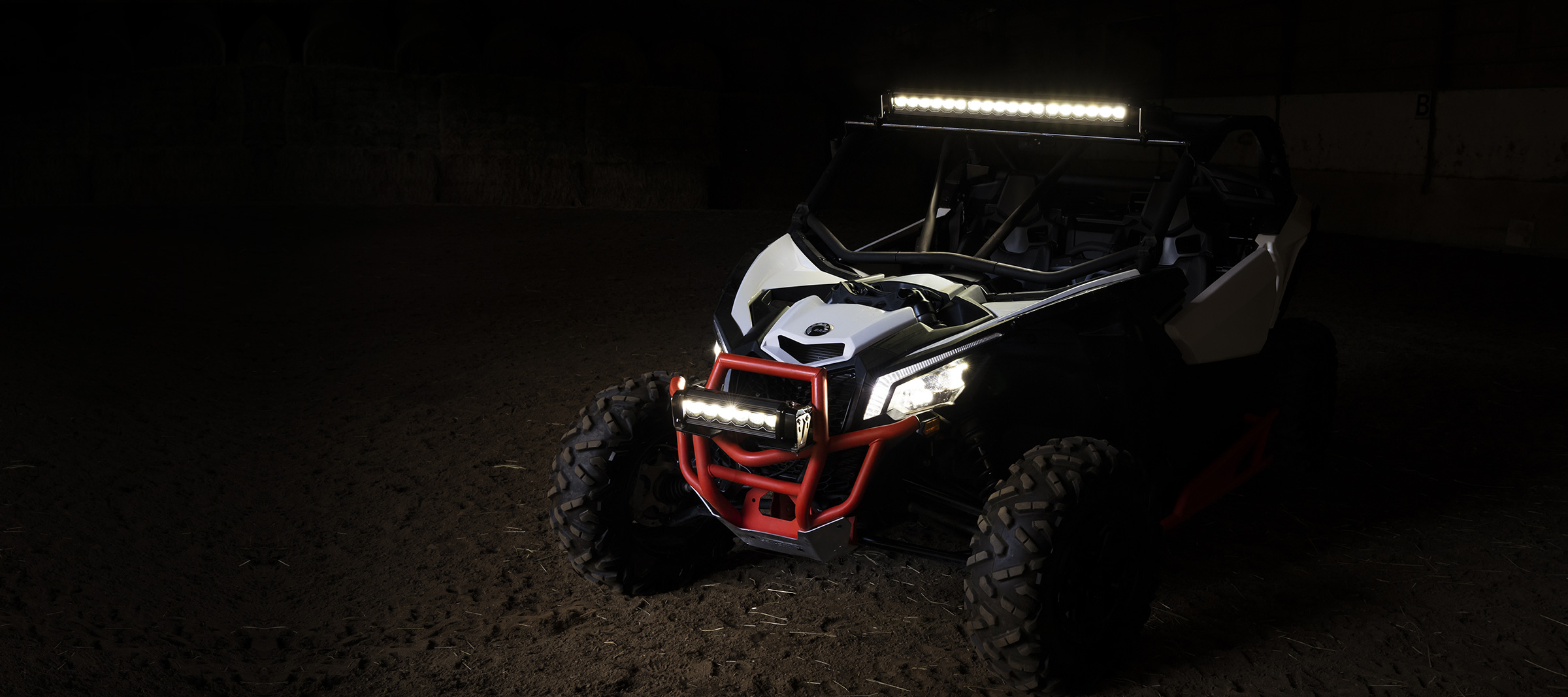 led light bar ATV side by side offroad best lighting